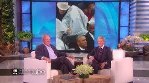 George W Bush Birth Ellen Degeneres Pokes Fun At George W Bush About His Viral