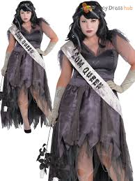 Halloween Prom Queen Costume Ladies Zombie Prom Queen Costume Corpse Halloween Fancy Dress