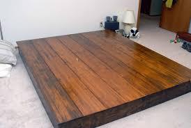 Wood Bed Platform Simple Wood Bed Frame Jambu Bedroom And Trends Also Platform