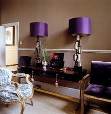 Purple Bedroom Decor by Bedroom Immaculate Purple Drum Shade Bedroom Table Lamps And