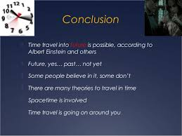Science research time travel
