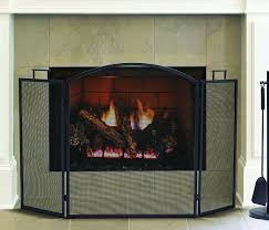 amazon com pleasant hearth classic fireplace screen home u0026 kitchen
