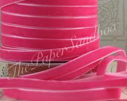 pink velvet ribbon pink velvet ribbon etsy