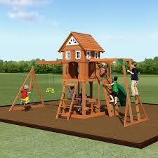 backyard discovery slide adventurer wooden swing set swing set backyard discovery