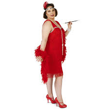buy roarin u0027 red flapper plus costume