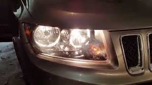 jeep compass change 2014 jeep compass testing headlights after changing bulbs low