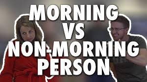 Morning People Meme - morning vs non morning person modern marriage moments youtube