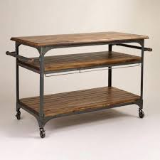 metal kitchen islands portable kitchen island awesome brown wood and metal kitchen cart