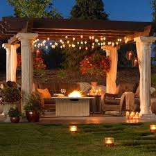 Outdoor Patio Firepit Pit Dining Table Propane Raised Pit Pit