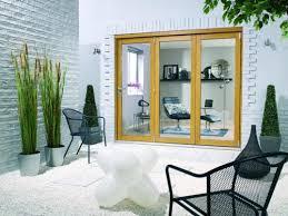 Oak Patio Doors 2400mm 8ft 3 Door Lpd Nuvu Oak Folding Patio Doors Prefinished