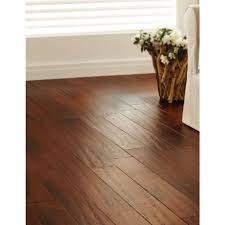Handscraped Laminate Flooring Home Depot Handscraped Strand Woven Brown 3 8 In T X 5 1 8 In W X 36 In L