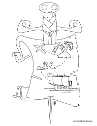 pirate treasure map coloring pages hellokids com