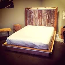 Pallet Platform Bed Pallet Wood Bed Hoodsie Co