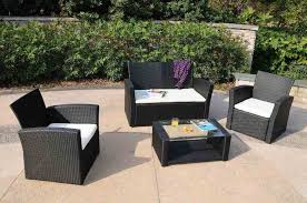 Patio Furniture Sale San Diego by Modern Black Wicker Outdoor Furniture Design All Home Decorations