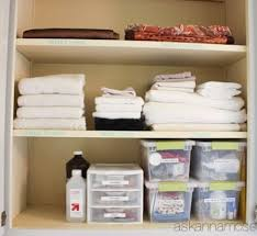 Bathroom Closet Storage by 43 Best Hall Linen Storage Closets Images On Pinterest Home