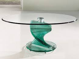 Pedestal Coffee Table Round Making Glass Pedestal Coffee Table