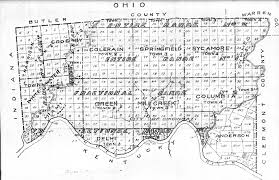 Springfield Ohio Map by Land Records And Maps
