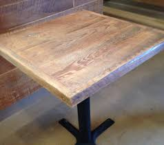 Diy Wood Dining Table Top by Reclaimed Wood Dining Tablepub Table Top Bistro Table Table