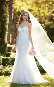 wedding dres strapless wedding dress with sweetheart neckline stella york