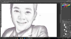 sketch style in photoshop action free download youtube