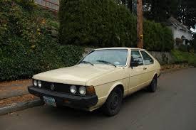 volkswagen hatchback 1980 old parked cars 1980 volkswagen dasher