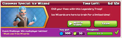 free clash of clans wizard clash of clans ice wizard new troop guide clash for dummies