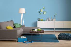 Wohnzimmer Farbe Blau Innenfarbe In Blau Himmelblau Streichen Alpina Farbrezepte