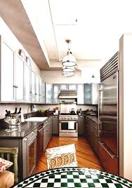 kitchen galley kitchen track lighting beverage serving freezers