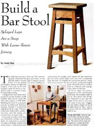 Wooden Bar Stool Plans Free by Diy Bar Stool U2022 Woodarchivist