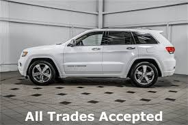 2016 jeep cherokee sport white 2016 used jeep grand cherokee overland at country diesels serving
