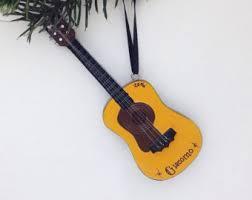 guitar ornament etsy
