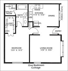 one bedroom house plans fashionable house plans 1 bedroom cottage 10 50 one home act