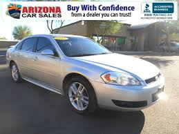 lexus certified pre owned phoenix certified pre owned 2012 chevrolet impala ltz 4dr car in mesa