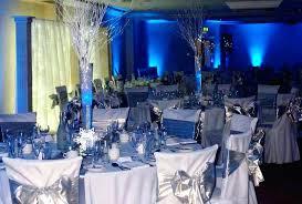 royal blue wedding decor pictures royal blue silver centerpieces