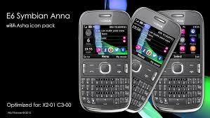 download themes for nokia e6 belle e6 symbian anna style theme x2 01 c3 00 320x240 s40 asha 200
