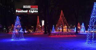 winter festival of lights niagara
