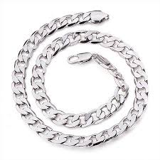 white necklace men images White gold necklace men 39 s choosing white gold necklace jewelry jpg