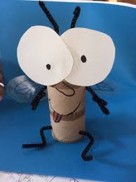 fly guy craft we could do this as a paper bag puppet rather than