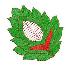 leaf machine embroidery designs