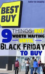 home depot spring black friday store set up signage 9 things not worth waiting u0027til black friday to buy