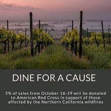Wildfires California August 2017 by Dine For A Cause Northern California Wildfires At Piazza D U0027angelo