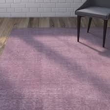 mauve area rugs wayfair