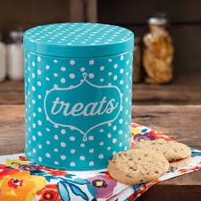 the pioneer woman flea market dots treat jar walmart com
