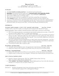 Resume Sample Business Administration by Best Accountant Resume Format Resume For Your Job Application