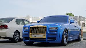 roll royce dubai rolls royce mansory ghost in dubai uae youtube