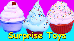 surprise toys in mr bubble bath foam giant surprise cupcakes
