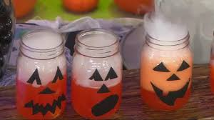 Mason Jar Halloween Lantern Halloween Party Ideas Clementine Jack O U0027 Lanterns Cauldron Games