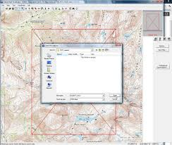 creating and printing a custom mapset with topo andrew skurka