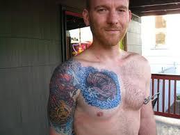 chest shoulder tattoos gettattoosideas com s largest