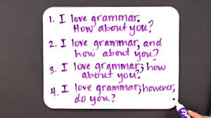 how to avoid a run on sentence grammar lessons youtube